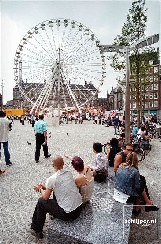 Nederland, Amsterdam, 24 juni 2001.