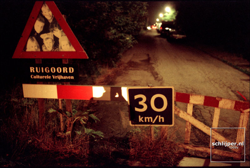 Nederland, Ruigoord, 7 juli 2001.
