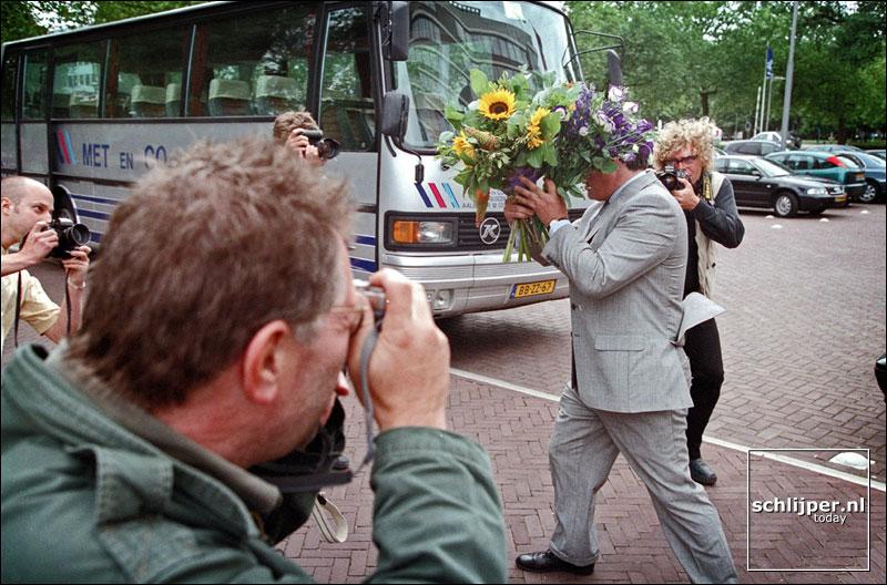 Nederland, Amsterdam, 11 juli 2001.