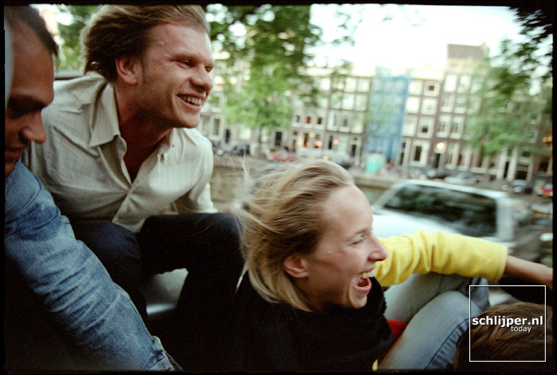 Nederland, Amsterdam, 16 juli 2001.