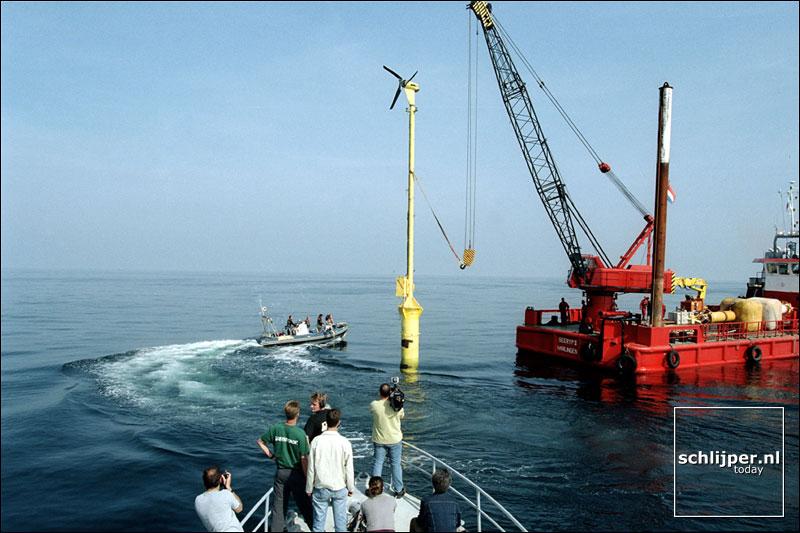 Nederland, Noordzee, 25 juli 2001.