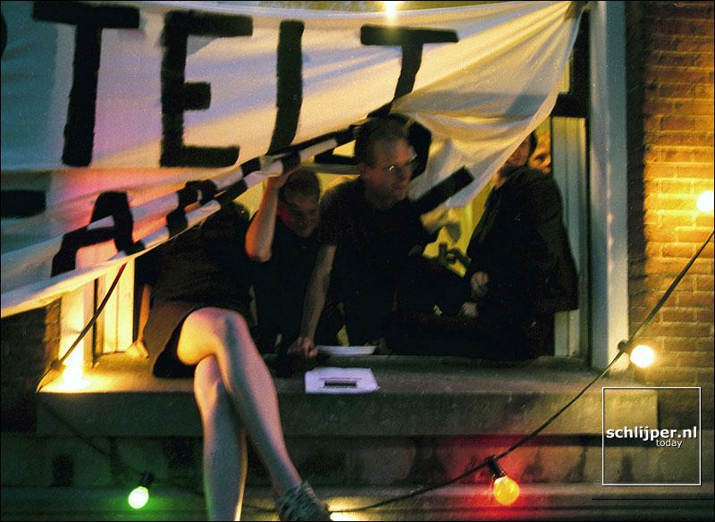 Nederland, Amsterdam, 1 augustus 2001.