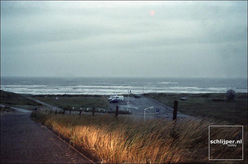Nederland, Wijk aan zee 12 augustus 2001.