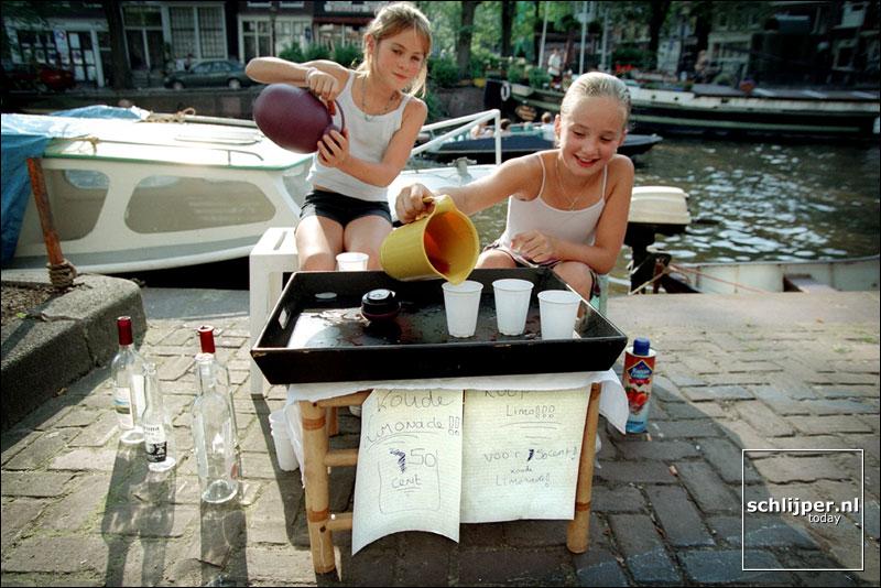 Nederland, Amsterdam, 25 augustus 2001.