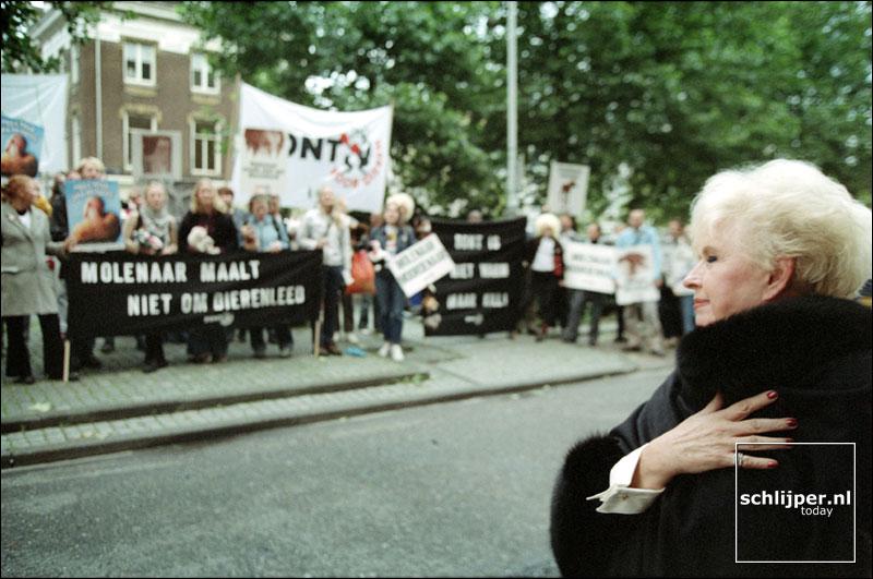 Nederland, Amsterdam, 10 september 2001.