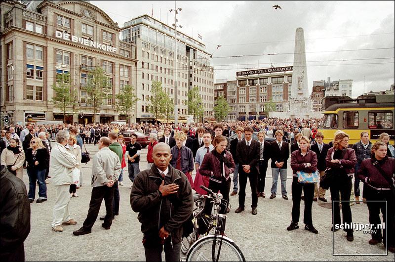 Nederland, Amsterdam, 14 september 2001.