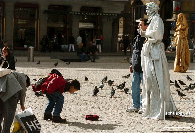 Nederland, Amsterdam, 3 oktober 2001.