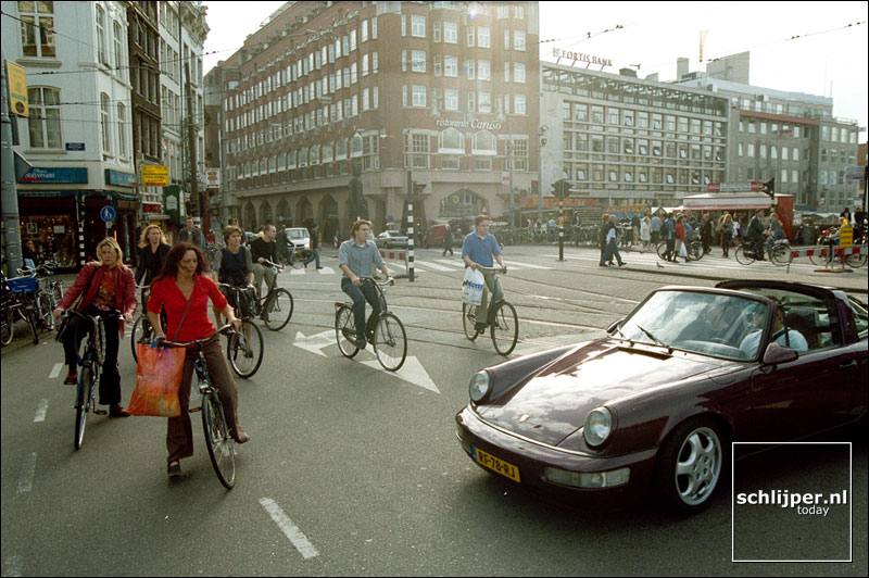 Nederland, Amsterdam, 12 oktober 2001.