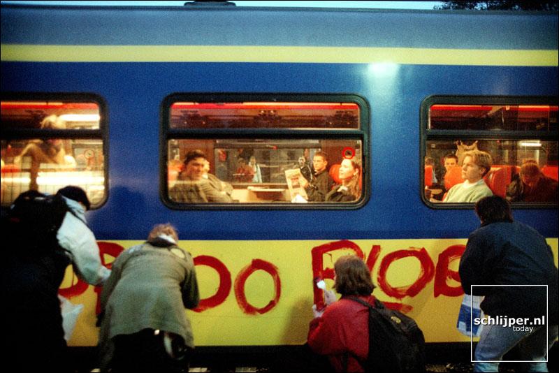 Nederland, Driebergen-Zeist, 6 november 2001.