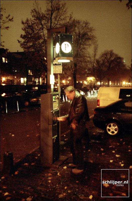 Nederland, Amsterdam, 12 november 2001.