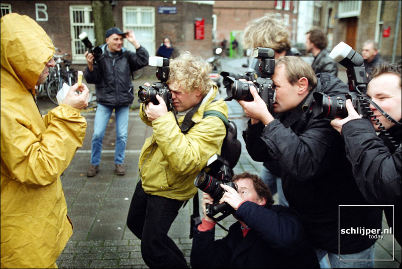 Nederland, Amsterdam, 22 november 2001.