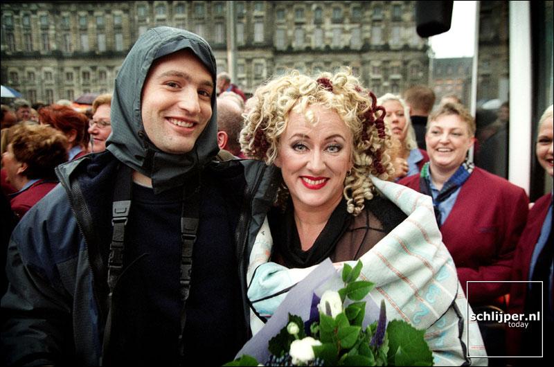 Nederland, Amsterdam, 1 december 2001.
