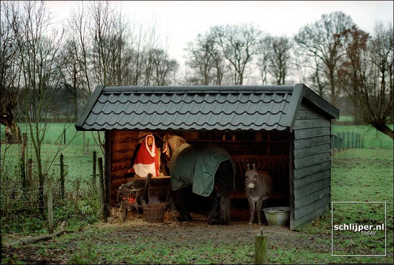 Nederland, Tienhoven, 18 december 2001.