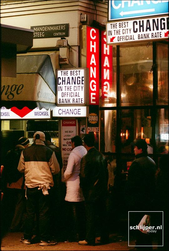 Nederland, Amsterdam, 3 januari 2002
