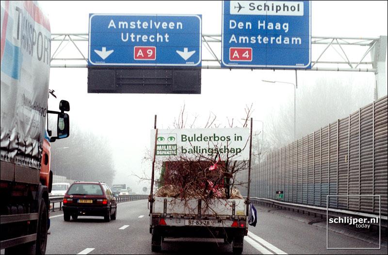Nederland, Badhoevedorp, 14 januari 2002