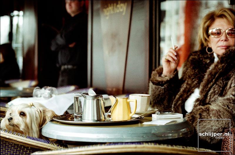 Frankrijk, Parijs, 25 januari 2002