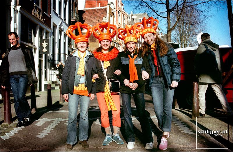 Nederland, Amsterdam, 2 februari 2002