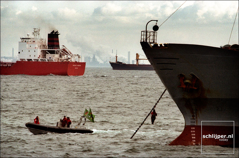 Nederland, IJmuiden, 3 maart 2002