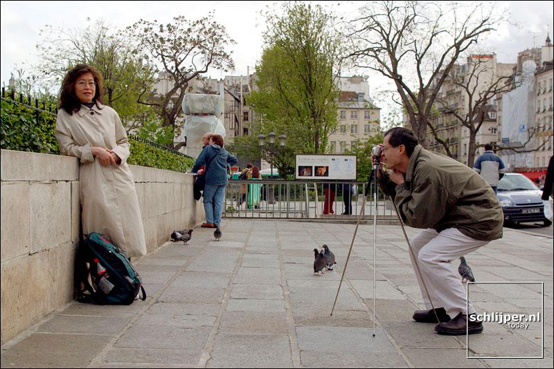 Frankrijk, Parijs, 29 april 2002