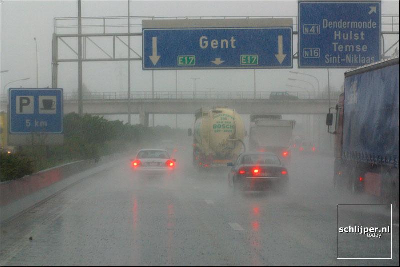 Belgie, Antwerpen, 29 april 2002