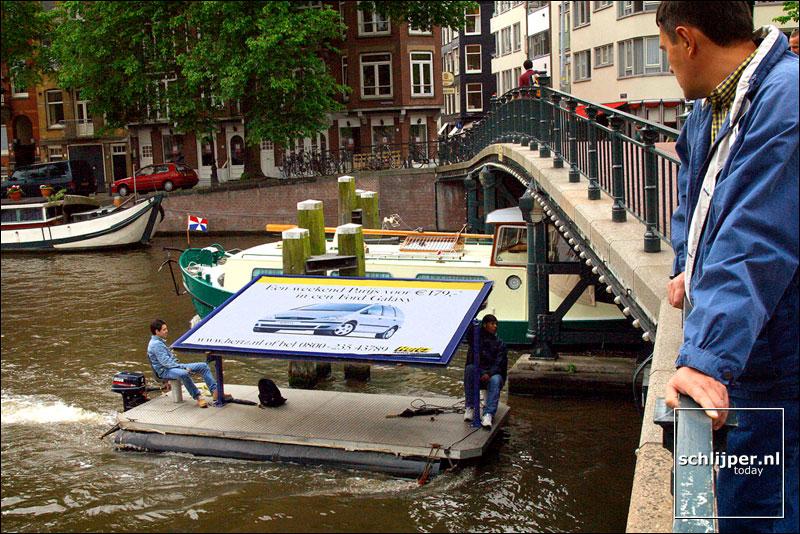 Nederland,  Amsterdam, 18 mei 2002
