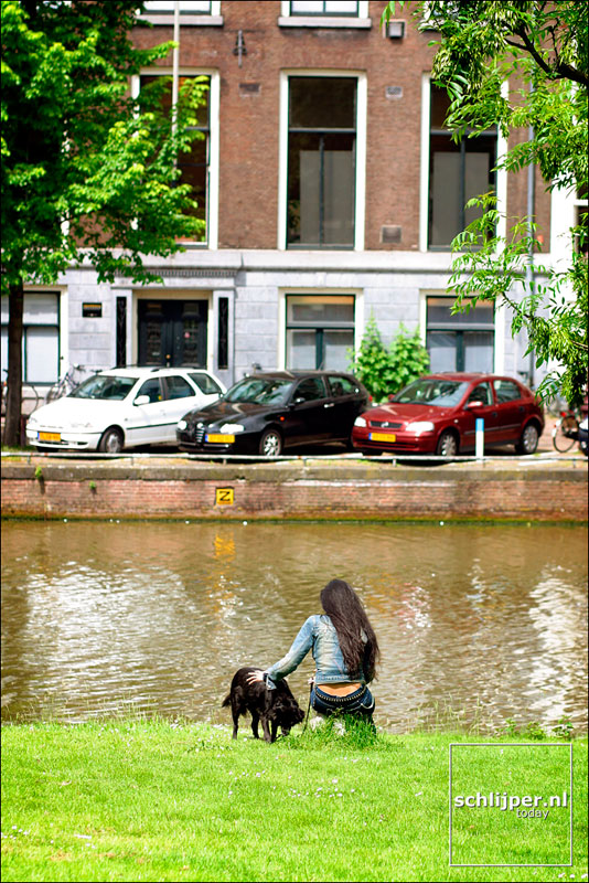 Nederland, Amsterdam, 30 mei 2002