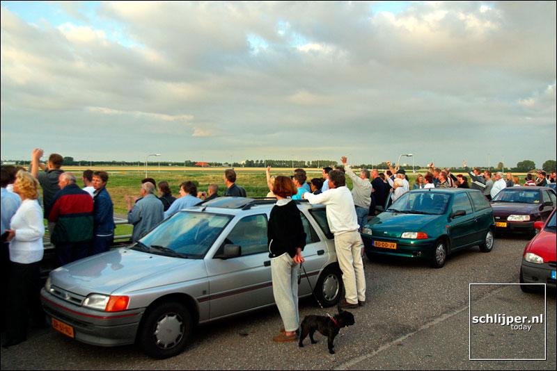 Nederland, Nieuw-Vennep, 19 juli 2002