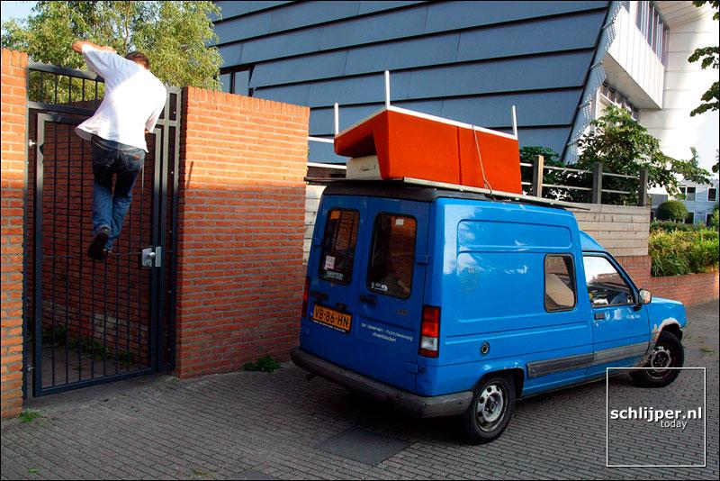 Nederland, Nieuw-Sloten, 26 juli 2002