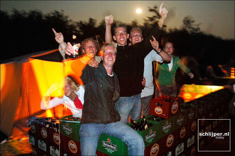 Nederland, Terschelling, Midsland, 27 juli 2002