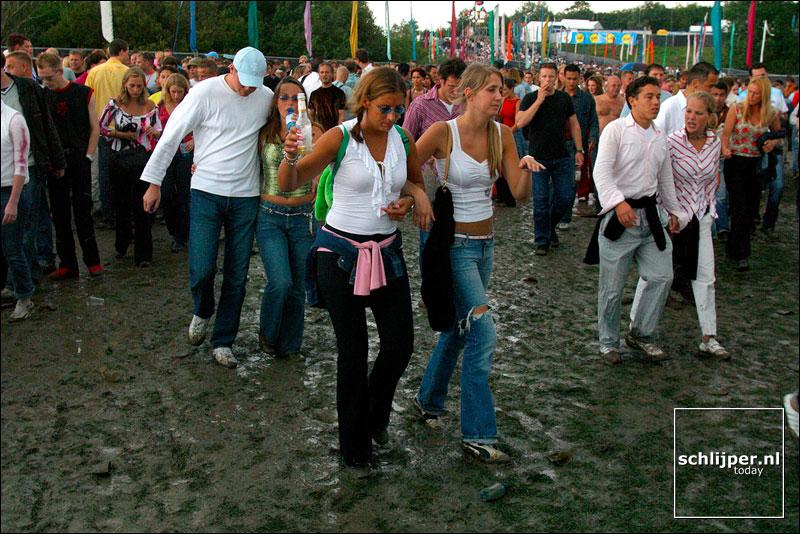 Nederland, Spaarnwoude, 3 augustus 2002