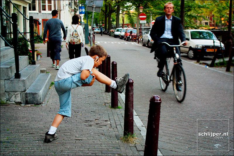 Nederland, Amsterdam, 5 september 2002