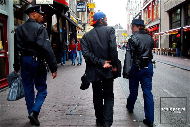 Nederland, Amsterdam, 17 september 2002