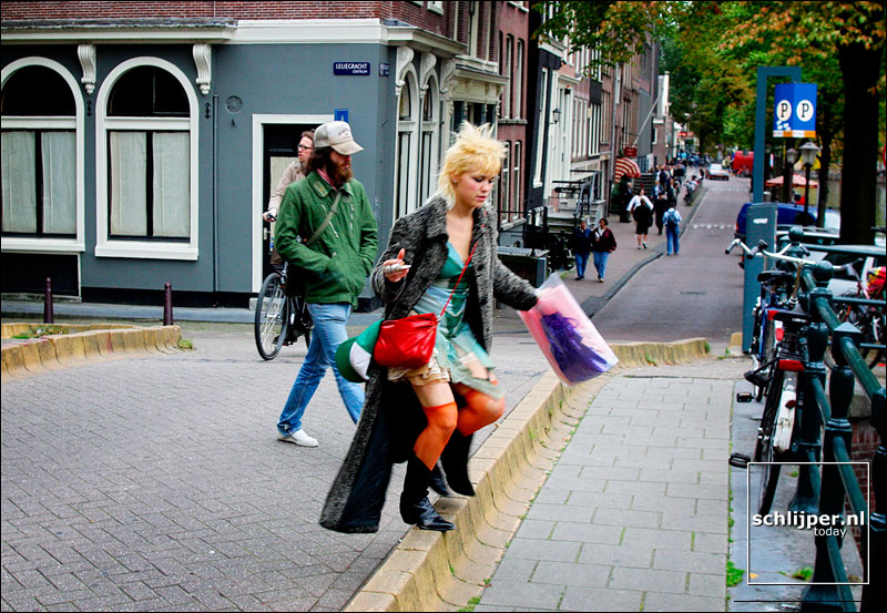 Nederland, Amsterdam, 18 september 2002