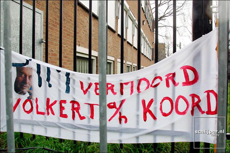 Nederland, Amsterdam, 4 november 2002