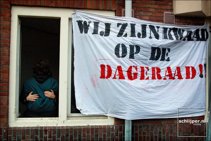 Nederland, Amsterdam, 15 december 2002