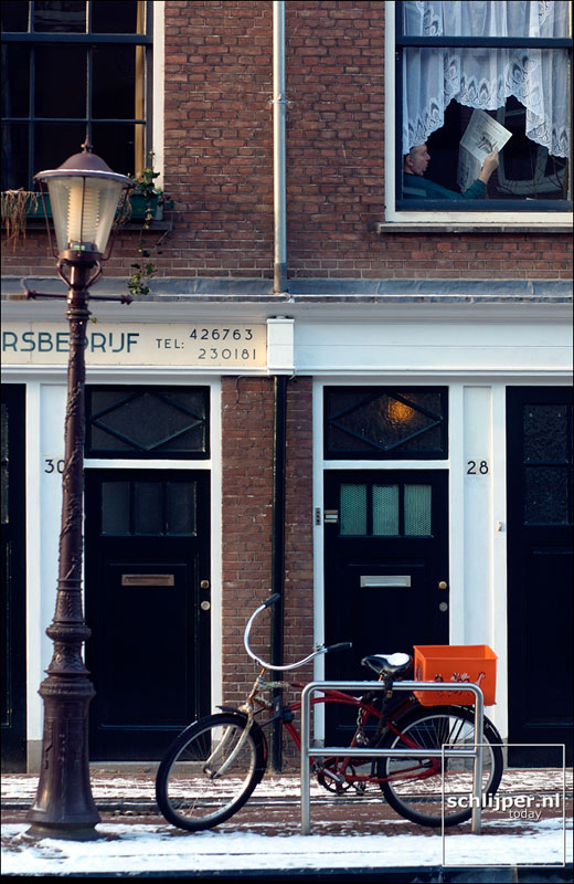 Nederland, Amsterdam, 8 januari 2003