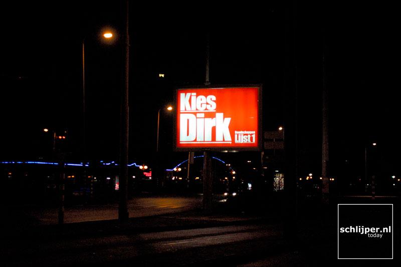 Nederland, Amsterdam, 12 januari 2003
