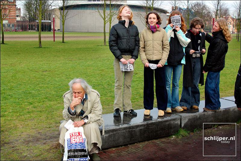 Nederland, Amsterdam, 27 januari 2003