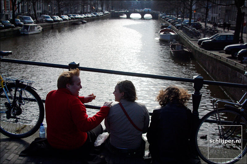 Nederland, Amsterdam, 28 februari 2003