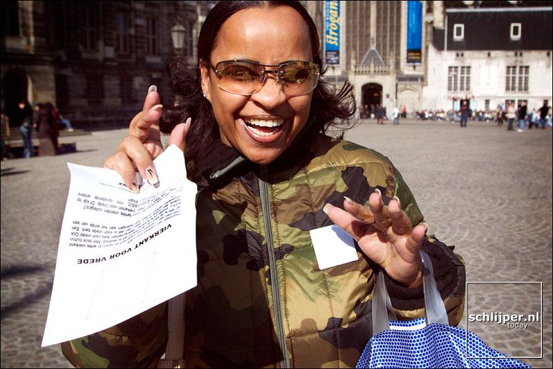 Nederland, Amsterdam, 15 maart 2003