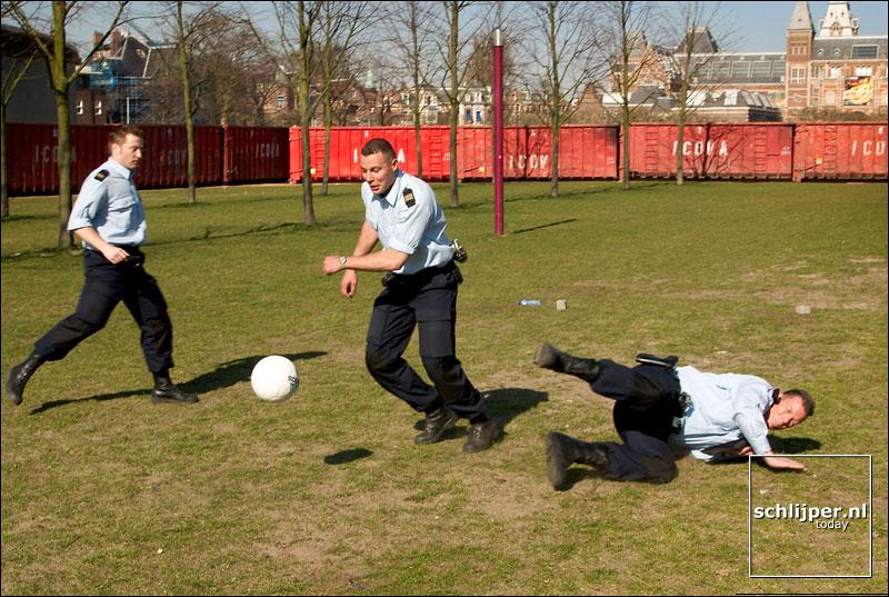 Nederland, Amsterdam, 23 maart 2003