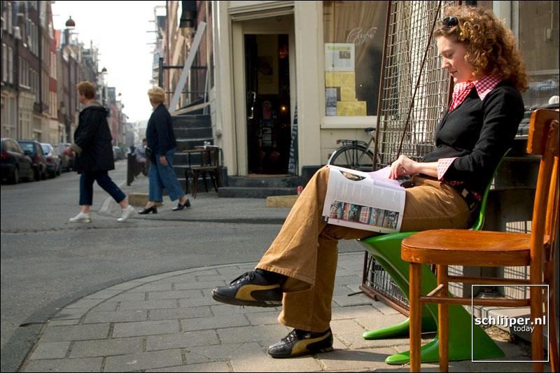 Nederland, Amsterdam, 27 maart 2003