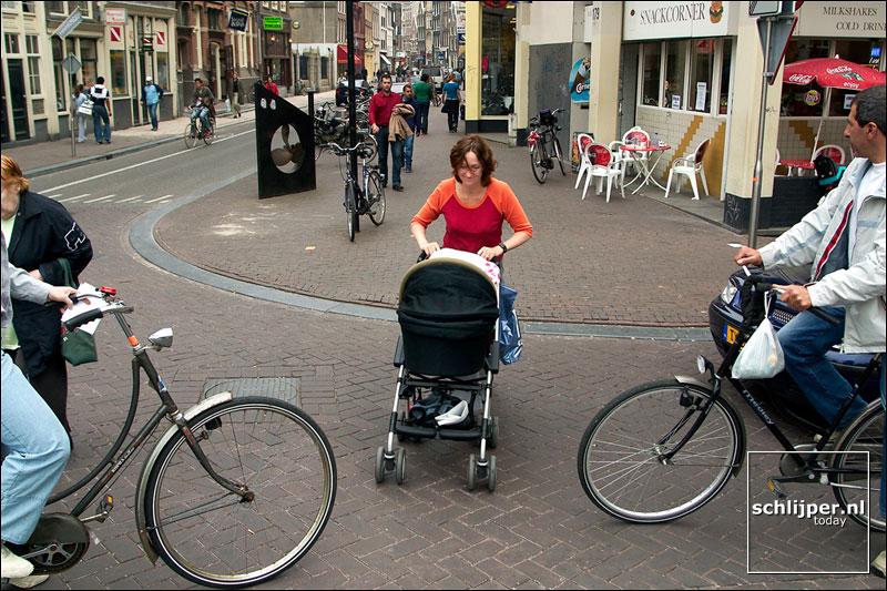 Nederland, Amsterdam, 25 april 2003