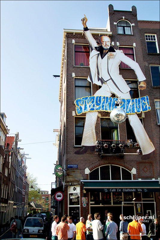Nederland, Amsterdam, 29 april 2003