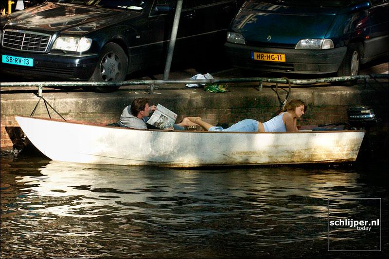 Nederland, Amsterdam, 10 mei 2003