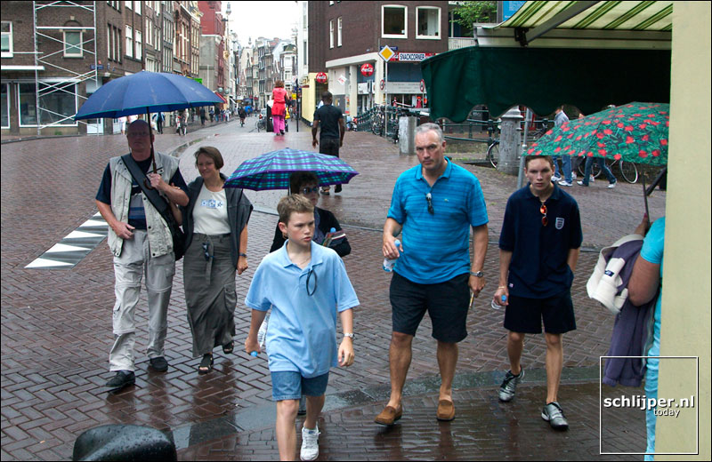 Nederland, Amsterdam, 30 juli 2003