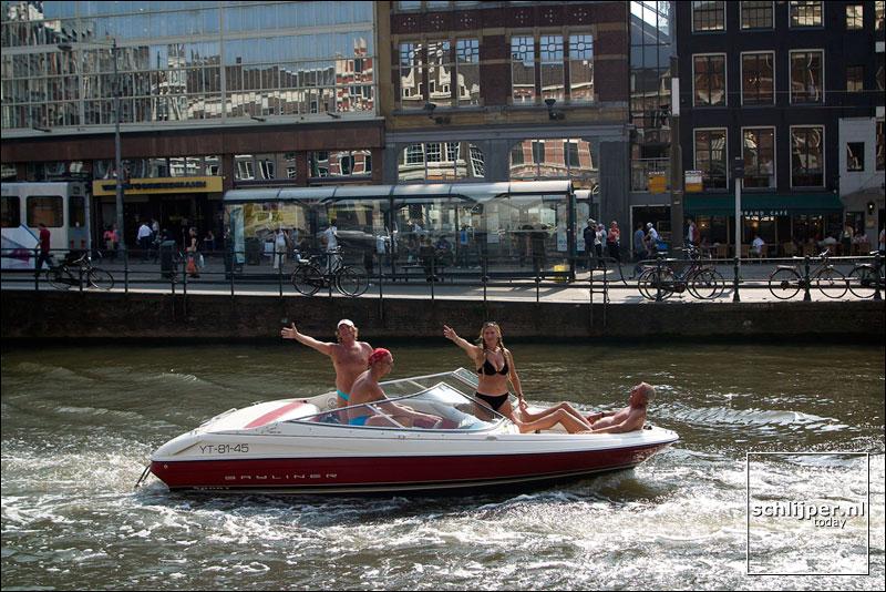 Nederland, Amsterdam, 5 augustus 2003