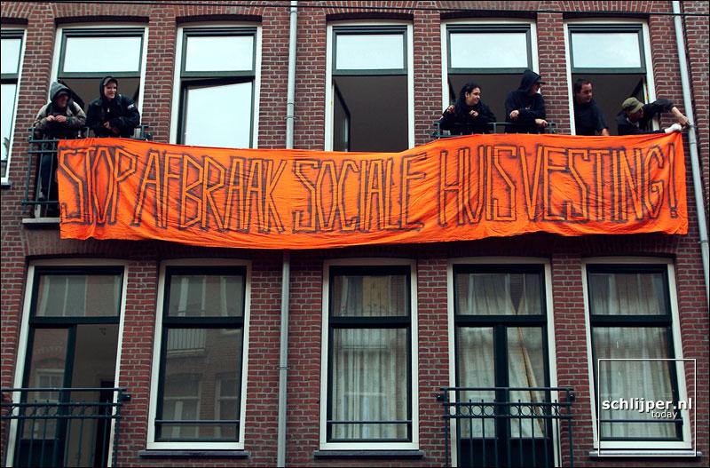 Nederland, Amsterdam, 6 september 2003