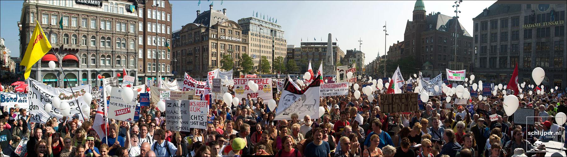 Nederland, Amsterdam, 20 september 2003
