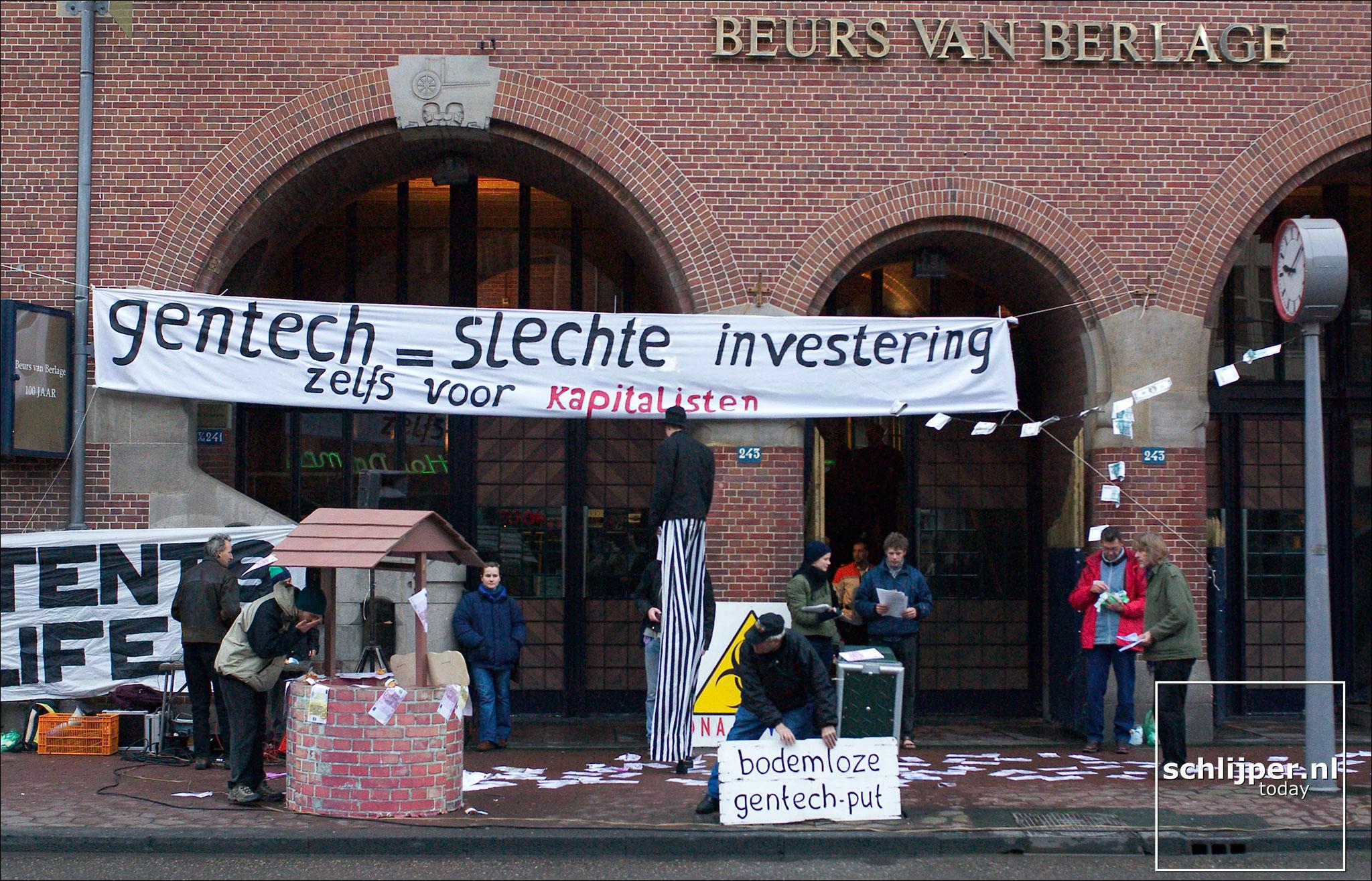Nederland, Amsterdam, 27 november 2003